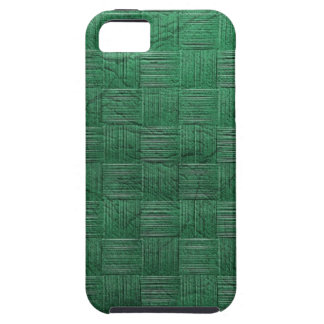 Green Woven metal iPhone SE/5/5s Case