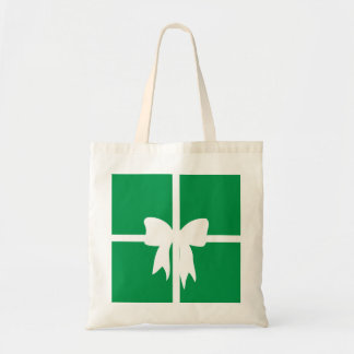 Green Wrapped Present Tote Bag