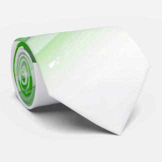 Green Writing Pad Tie