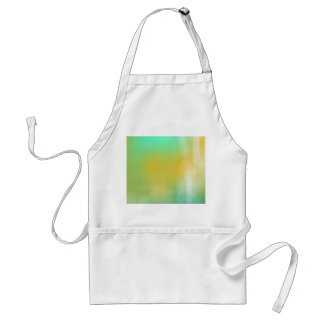 Green & Yellow Abstract Art Apron