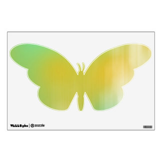Green & Yellow Abstract Art Wall Decal