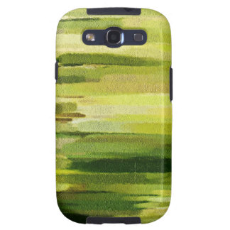 Green & Yellow Abstract Painting - SS Galaxy Case Samsung Galaxy SIII Cases