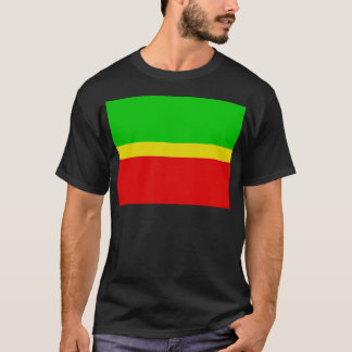 Green, yellow, and red. T-Shirt