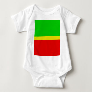 Green, yellow, and red. t shirt