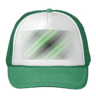 Green & Yellow Checkered Tubes Trucker Hat