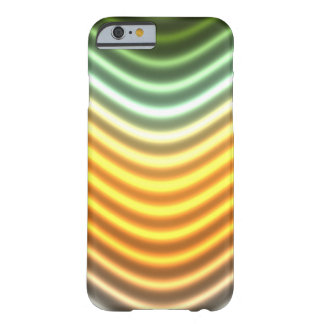 Green Yellow Color Wave Digital Art Phone Case