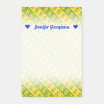 [ Thumbnail: Green & Yellow Dollar Signs ($) Striped Pattern Notes ]