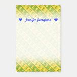 [ Thumbnail: Green & Yellow Dollar Signs ($) Striped Pattern Notes ]