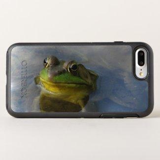 Green Yellow Frog