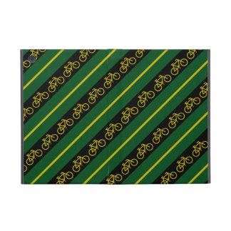 Green Yellow Gold Bike Bicycle Stripes iPad Mini iPad Mini Covers