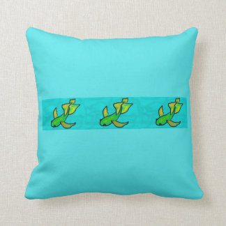 Green Yellow Koi Pillow