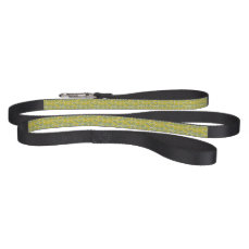 Green & Yellow Leaf Pet Leash