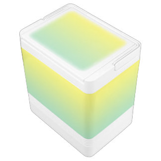 Green & Yellow Ombre Cooler