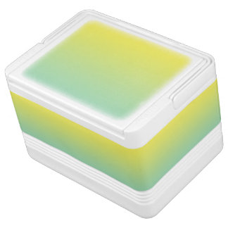 Green & Yellow Ombre Drink Cooler
