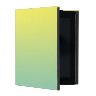 Green & Yellow Ombre iPad Case