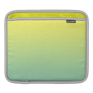 Green & Yellow Ombre iPad Sleeves