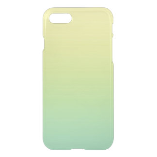 Green & Yellow Ombre iPhone 7 Case