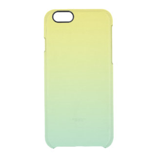 Green & Yellow Ombre Uncommon Clearly™ Deflector iPhone 6 Case