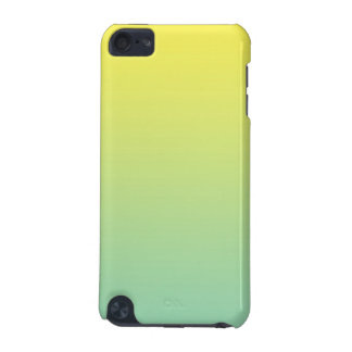 Green & Yellow Ombre iPod Touch (5th Generation) Covers