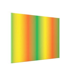 green yellow orange gradient canvas print