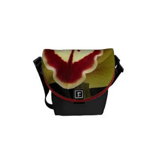 Green Yellow Orchid Mini Messenger Bag