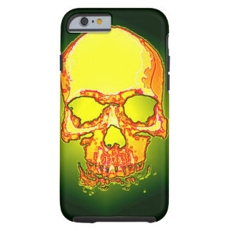 Green Yellow Skull Heavy Metal Fantasy Art Tough iPhone 6 Case