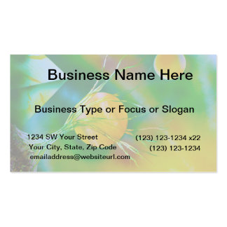 green yellow tree pyramid spacepainting business card