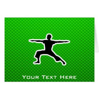 Green Yoga Card