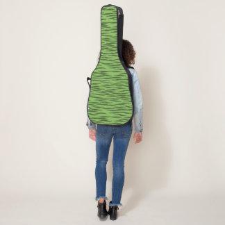 Green  Zebra guitar case