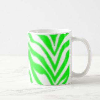 Green Zebra Mug