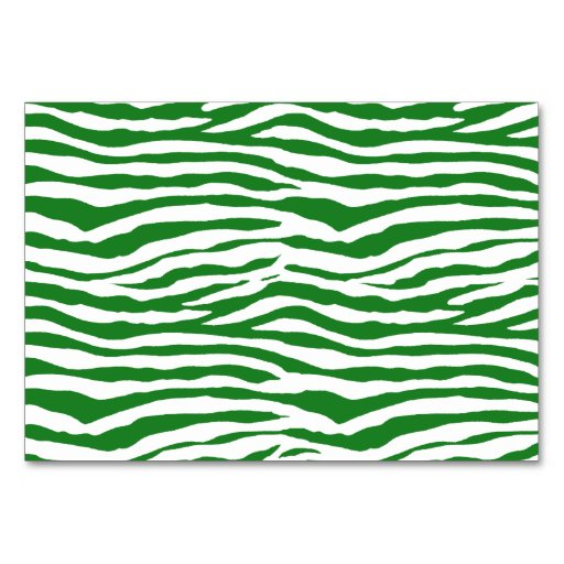 green zebra stripes card zazzle. Black Bedroom Furniture Sets. Home Design Ideas
