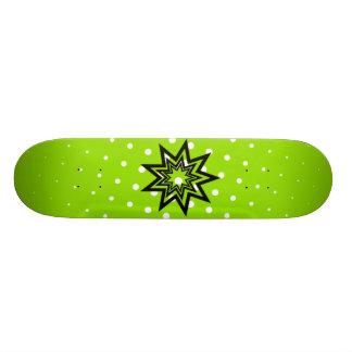 Green Zerodraline Board Skateboard Deck
