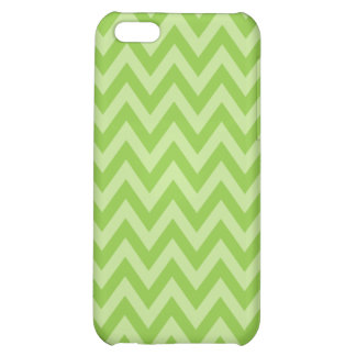 Green ZigZag Case Cover For iPhone 5C
