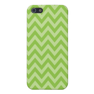 Green ZigZag Case Covers For iPhone 5