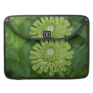 Green Zinnia Sleeves For MacBooks