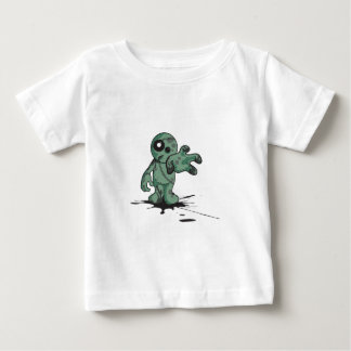 Green Zombie Doll Baby T-Shirt