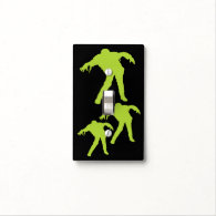 Green Zombie Light Switch Cover