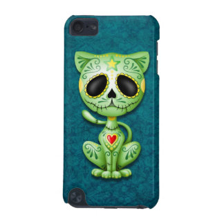 Green Zombie Sugar Kitten iPod Touch (5th Generation) Covers