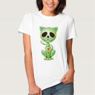 Green Zombie Sugar Kitten Shirt
