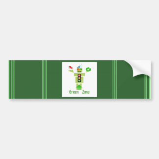 GREEN Zone Bumper Sticker