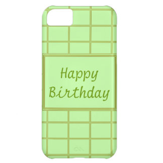 GREEN Zone : EDITABLE Greeting Text Cover For iPhone 5C