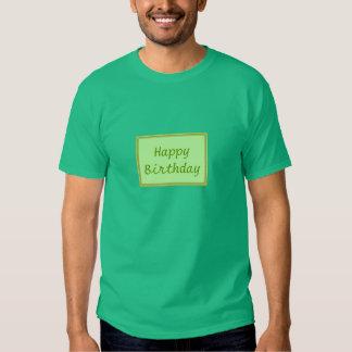 GREEN Zone : EDITABLE Greeting Text T Shirt