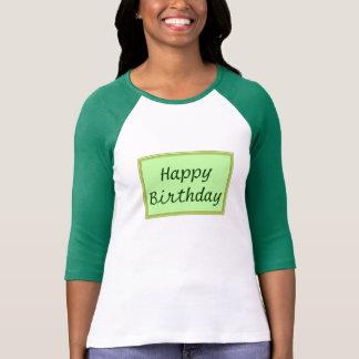 GREEN Zone : EDITABLE Greeting Text T-shirt