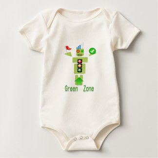 GREEN Zone Energy Efficient Only Baby Bodysuits