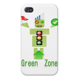 GREEN Zone Energy Efficient Only Case For iPhone 4