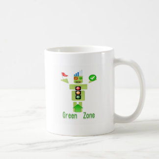 GREEN Zone Energy Efficient Only Classic White Coffee Mug