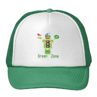 GREEN Zone Energy Efficient Only Trucker Hat