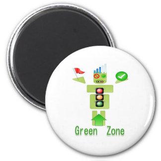 GREEN Zone Energy Efficient Only Fridge Magnet