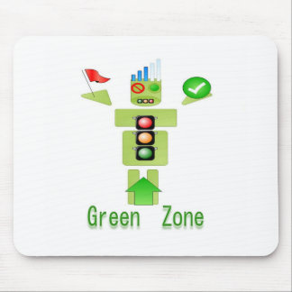 GREEN Zone Energy Efficient Only Mouse Pad