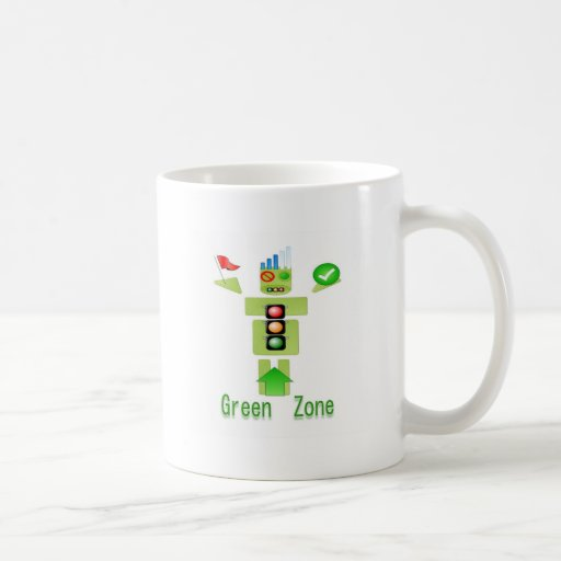 GREEN Zone Energy Efficient Only Coffee Mugs
